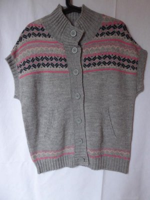 Only Short Sleeve Knitted Jacket multicolored