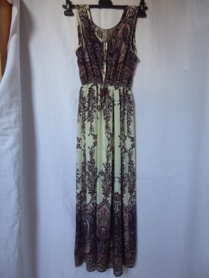 NEU: Buntes, langes Sommer-Kleid