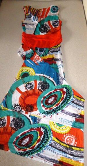 NEU | Buntes Maxi-Kleid in sommerlichen, satten Farben - perfekt in heißen Sommertagen