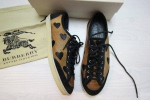 Burberry Sneakers met veters zwart-bruin