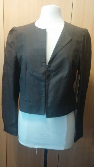 Neu Business Eleganter Damen Blazer Jacke Gr. 38 in metalic-brown APANAGE P. 99,95 €