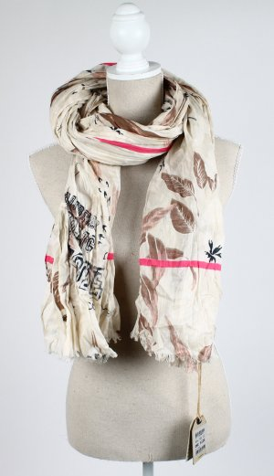 Camel Active Fringed Scarf multicolored cotton