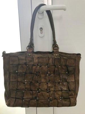 NEU!!! Campomaggi Handtasche in Cognac/Ocker