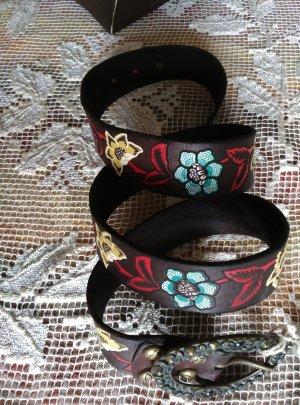 Campomaggi Leather Belt multicolored leather