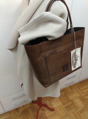 NEU! Campomaggi Leder Tragetasche Shopper Bronzo NP:440€