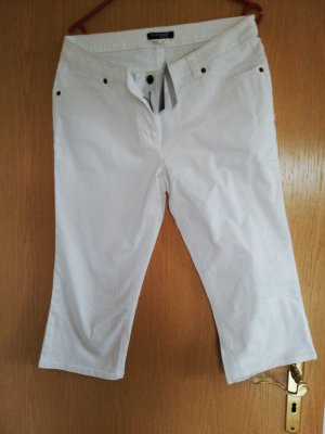 Raspberry collection Pantalone Capri bianco