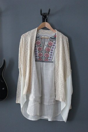 neu Cardigan Light before Dark Urban Outfitters S 36 Strickjacke Layering