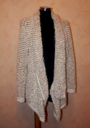 Knitted Cardigan natural white-oatmeal