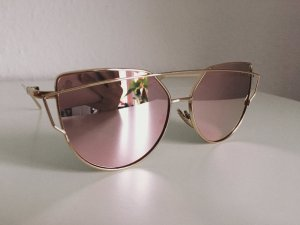 NEU • Cat Eye Sonnenbrille in Roségold