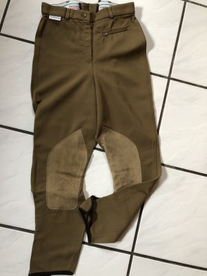 Pantalón de equitación color bronce