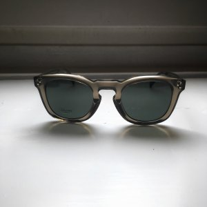 Celine Oval Sunglasses taupe-grey brown