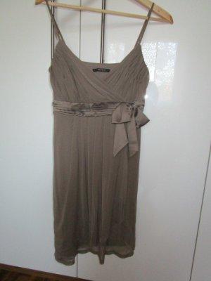 Esprit Chiffon jurk bruin