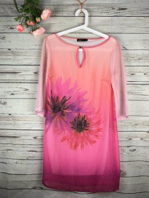 Tunic Dress light pink-neon pink
