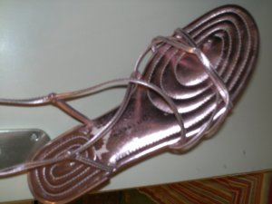 Bruno Premi Strapped Sandals pink leather