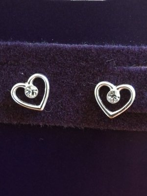 Claires Silver Earrings silver-colored