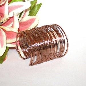 Bangle rose-gold-coloured