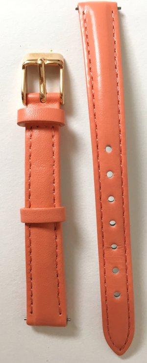 NEU * Cluse La Vedette Uhr Uhrenwechselarmband 12 mm - Flamingo / Rose Gold Leder