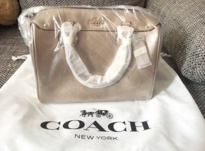 NEU Coach New York Tasche gold
