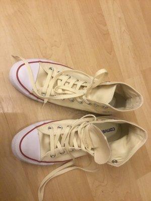 Converse High top sneaker lichtgeel