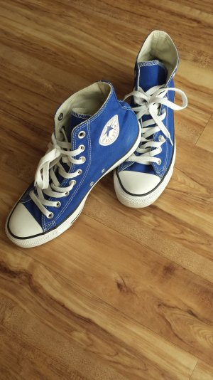 NEU Converse Allstars Chucks royal blau 39,5 / 6,5
