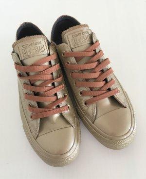 NEU Converse Chucks All Star Low US7 Women Blush Gold 37,5 & 38 Sneaker Ballerina
