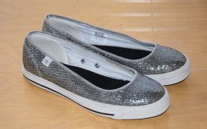 NEU Converse One Star Blogger Ballerina Slipper Slipon Sneakers 36 Silber