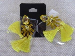 Statement Earrings yellow