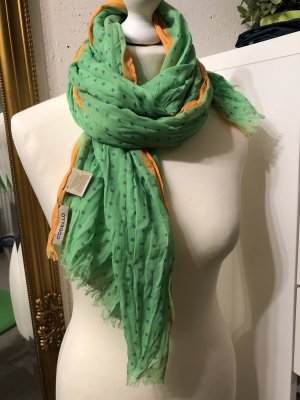 Cordello Pañoleta naranja neón-verde