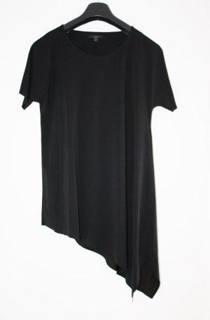 COS Lange blouse zwart