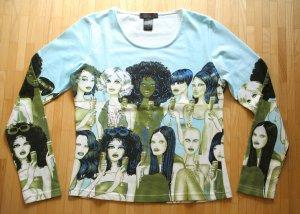NEU Custo Barcelona Langarm Shirt Gr. 2