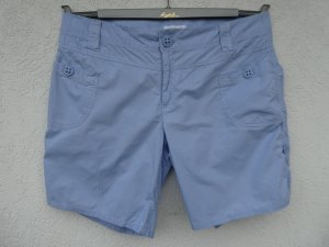 NEU - Damen Bermudashorts zum Hochkrempeln, hellblau
