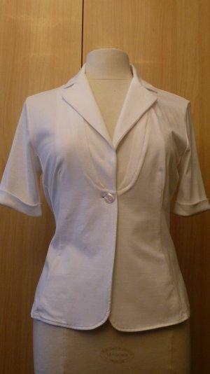 NEU Damen Bluse Gr.38 von Lisa Campione Elegante leichte Damen Sommer  Blazer in weiß