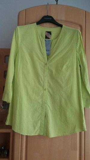 NEU Damen Bluse TRENDY Wunderschöne leichte ZAFFIRI Gr.38 in frisch Grün P. 59,95€