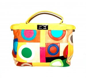 0039 Italy Frame Bag multicolored