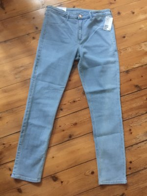 H&M Drainpipe Trousers azure