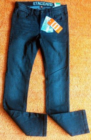 Staccato Stretch jeans zwart Katoen