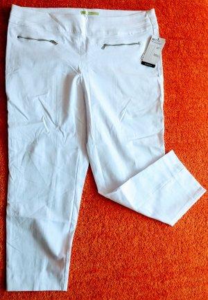 Steilmann Stretch Trousers white cotton