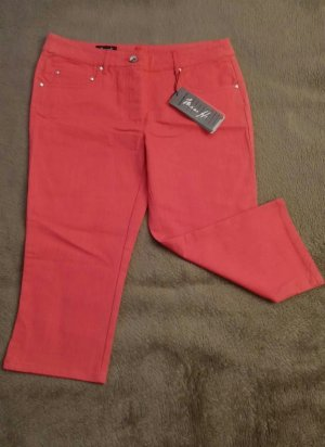 Miss H. 7/8 Length Jeans red cotton