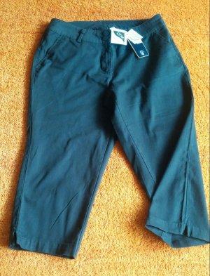 NEU Damen Hose Stretch 7/8 Capri Hose Gr.40 Schwarz von ESMARA