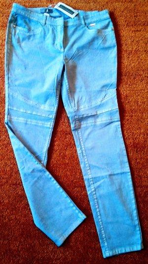Kapalua Jeans stretch bleu azur coton