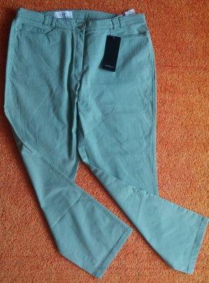 NEU Damen Hose Stretch Jeans Gr.46 in Grün von Steilmann