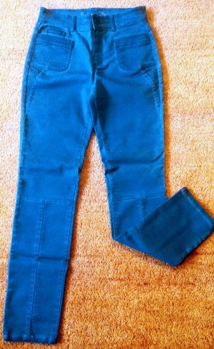 Pantalone cinque tasche ocra