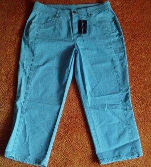 Capris azure cotton