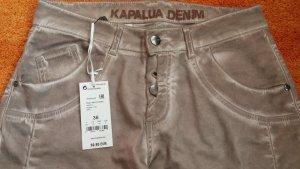 NEU Damen Hose verwaschener Optik Gr. 36 in Beige von KAPALUA Preis 89,95 € WOW