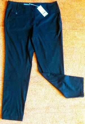 Kapalua Drainpipe Trousers dark brown polyester