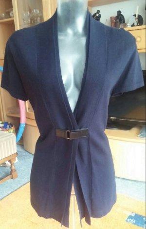 NEU Damen Jacke Kaschmir Weste Gr.40 in Blau von Gerry Weber P. 79,95€
