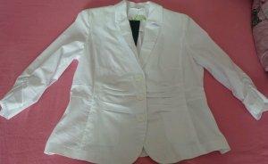 NEU Damen Jacke leichte Sommer Blazer von STEILMANN Gr. 42 Preis 69,99 € in Weiß