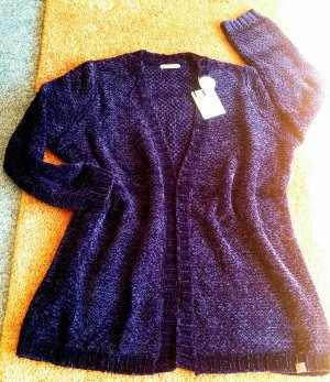 NEU Damen Jacke strick Cardigan Gr.XXL in Lila von Basefield P.49,99€