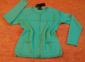 NEU Damen Jacke Wunderschöner strick Cardigan Gr. 34 in Grün von Apanage