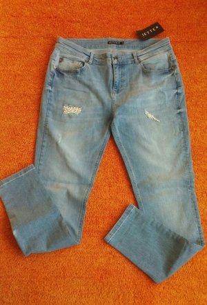 Neu Damen Jeans Hose Stretch Perlen Gr.36 von Jette P.119,99€